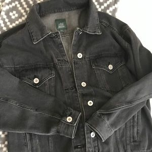 wild fable vintage black wash denim jacket